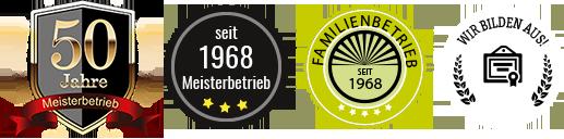 Familienbetrieb - seit 1968 Meisterbetrieb: wir bilden aus!